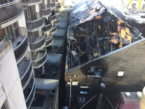 Badminton and Racquet Club destroyed by fire in February