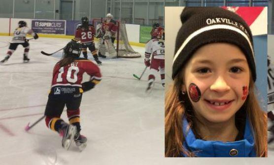 Kids like Cara Smith (2015) of the Oakville Hornets will invade Leaside
