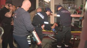 Bouncer hurt on Queen West