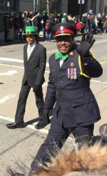 Chief Saunders was there