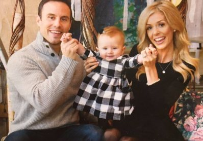 Jay and Mallory Carmichael with Cooper Capri aged one year