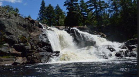 High Falls on the Muskoka River undated