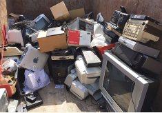 rotary recycle bin