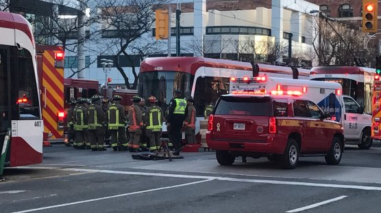 Southbound at Spadina and Sullivan -- CP24 by Twitter