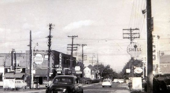 Bayview and Millwood had three service stations /Picture by rudy.ca