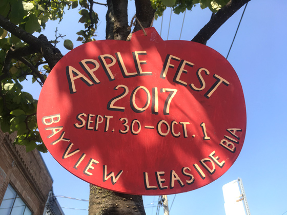 Bayview Leaside BIA's second annual Apple Fest!