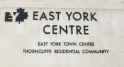 Gate to EY Centre, Thorncliffe