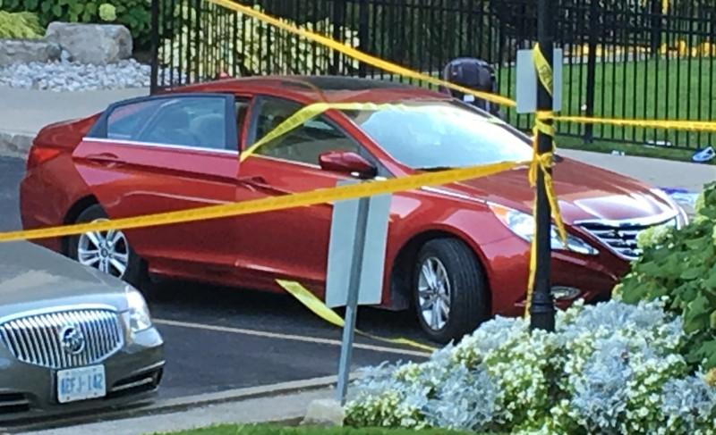 Child dies in hot car on day temps reached into high 20s