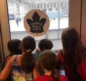 Leafs wave to Atom Wildcats