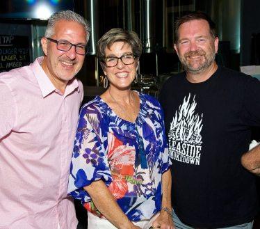 Patrick Rocca, Denise Leslie and Andy Elder