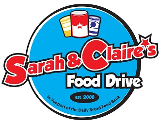 Sarah & Claire's Food Drive
