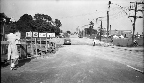 Eglinton East at Bayview 1951