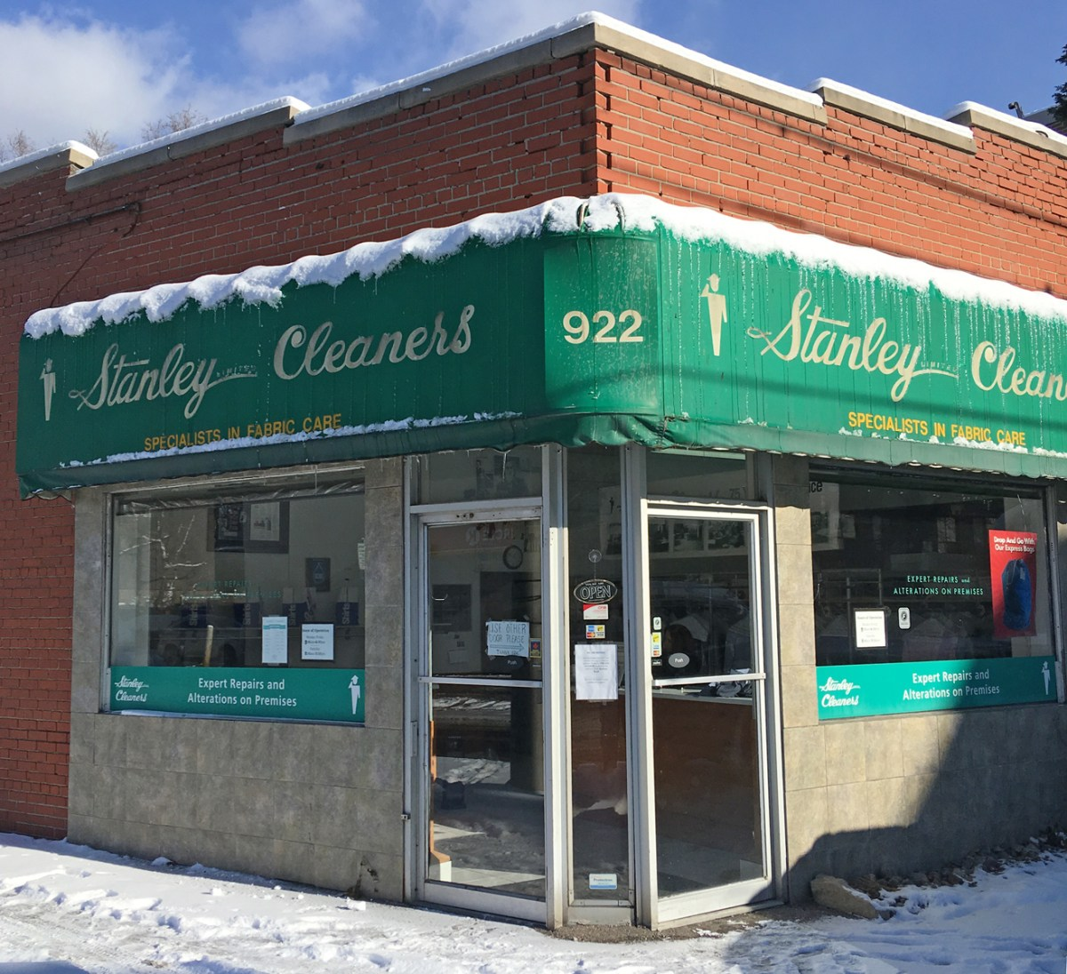 Stanley Cleaners at Millwood/Randolph closes Saturday
