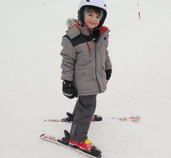 Dressed to ski