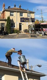 Fish and Chip roofers/Bulldog