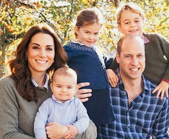 Kate, Louis, Charlotte, George and William