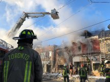 One dead, one injured in basement fire in store on Bathurst – The
