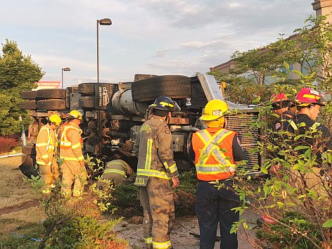 Dump truck rollover, 228 km/h on 403 charge Thursday – The South