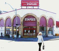 Now a Staples, 1140 Yonge was a Pierce-Arrow showroom.