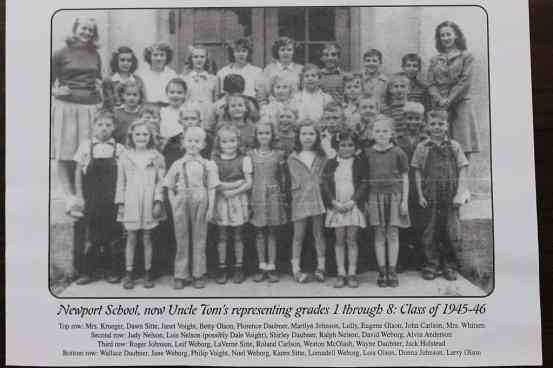 1945 school photo Alvin Anderson