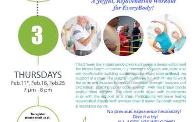 Thursday Evenings – Fitness Class