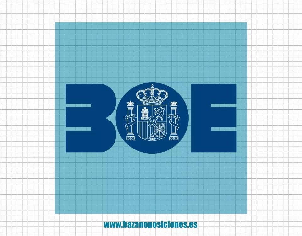 Publicación en BOE