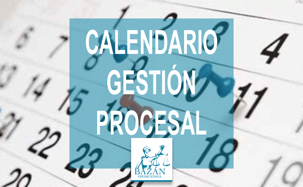 Calendario Gestión Procesal