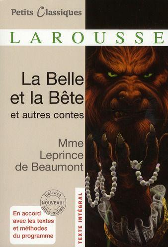 La Belle Et La Bte De Mme LEPRINCE DE BEAUMONT BAZAR DE