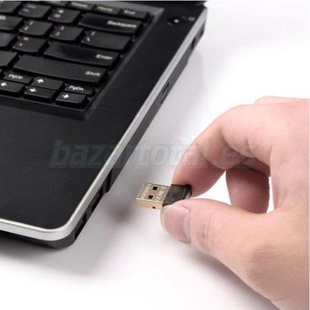 BLUETOOTH 4.0 DONGLE MINI ADAPTADOR USB STICK 2.0 MODO DUAL DE ALTA VELOCIDAD 1