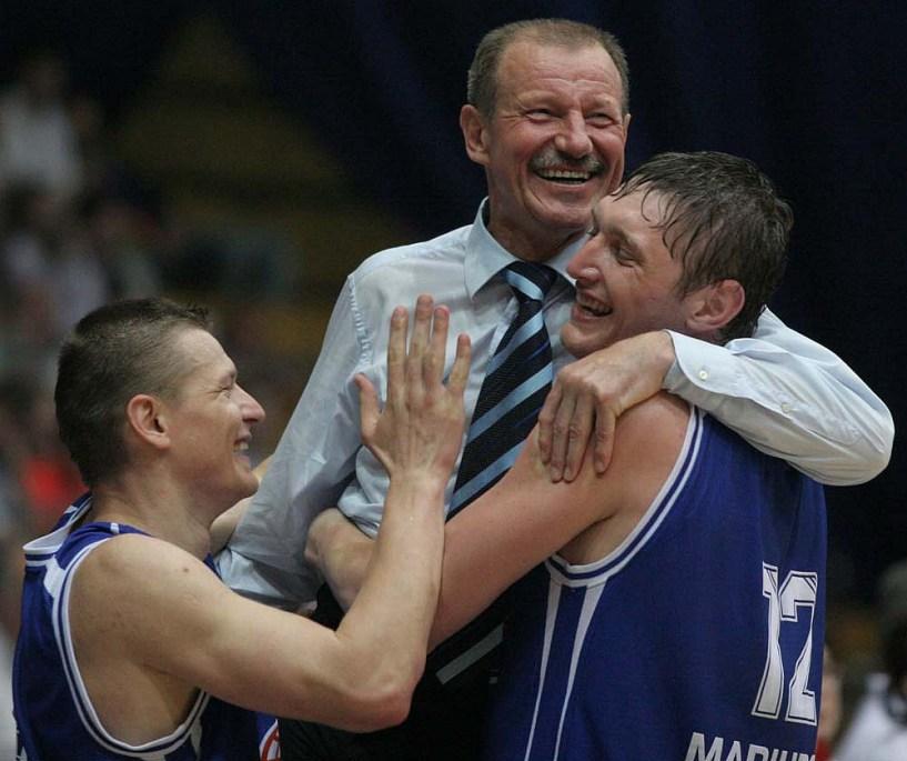Александр Скутельник, Римас Гирскис и Сергей Лищук / bcazovmash.com.ua