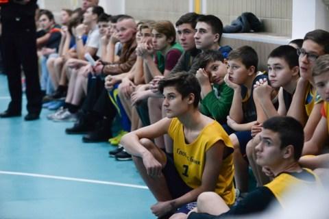 Киевская Школьная Баскетбольная Лига в действии