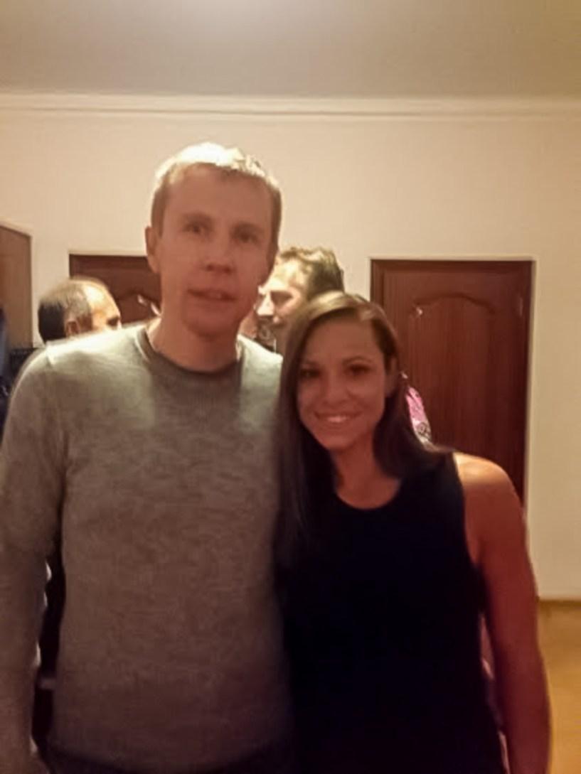 Дмитрий Базелевский и Оксана Мастерс