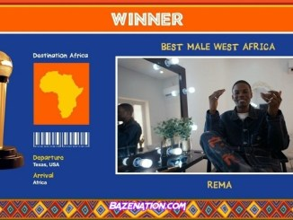 Rema Wins AFRIMMA's 2020 Best Male West Africa Award – Full Winners List