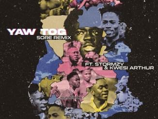 Yaw Tog - Sore (Remix) ft. Stormzy & Kwesi Arthur Mp3 Download