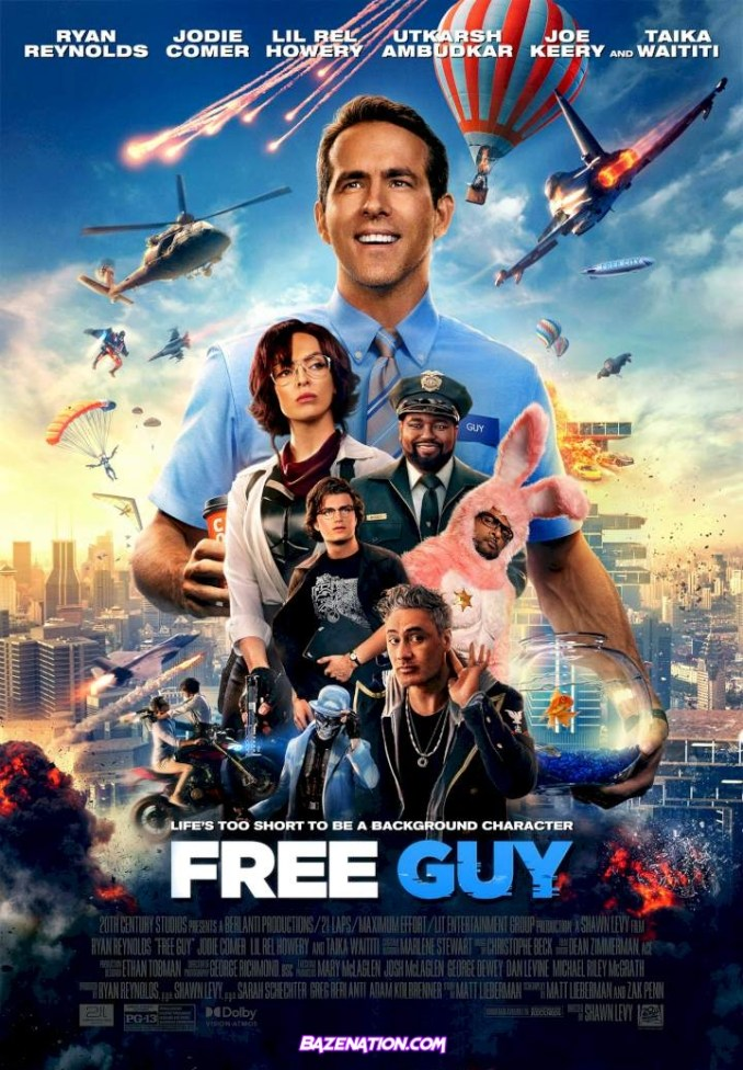 Download Movie: Free Guy (2021) mp4