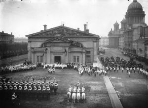 Парад лейб-гвардии Конного полка