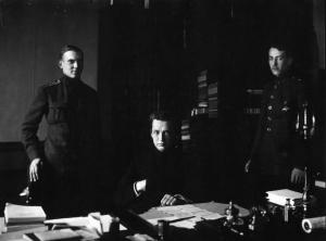 А.Ф. Керенский с помощниками