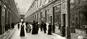 Внутренний вид Пассажа Санкт-Петербурга. 1900