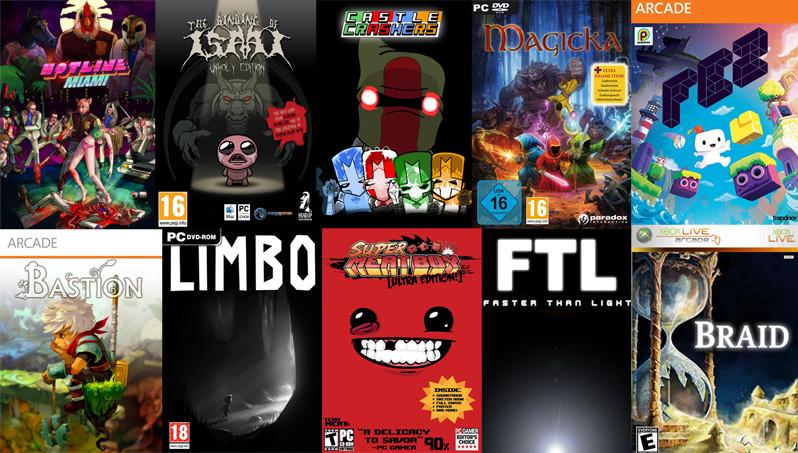 چند بازی مستقل