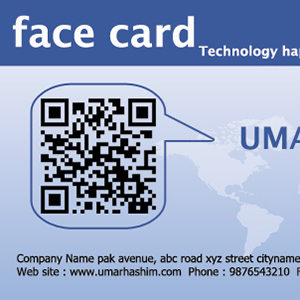 Facebook Business Card Template For Your Business Identity