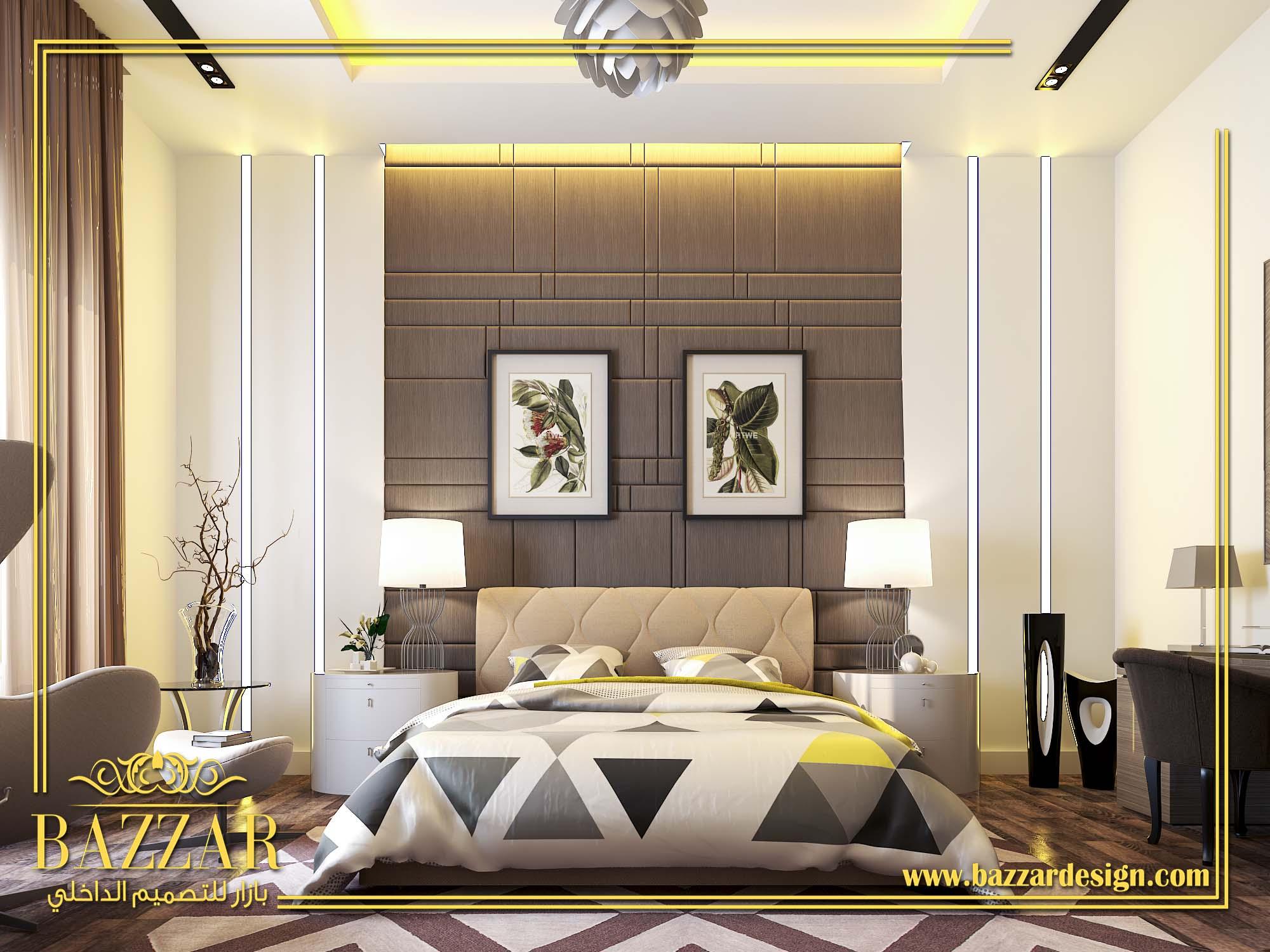 غرف نوم كلاسيك بازار للتصميم الداخلي و الديكور