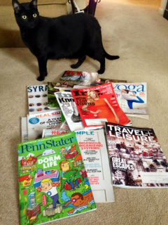 Magazines and Takoda