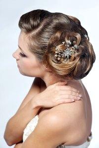 Le chignon, la coiffure de mariée intemporelle