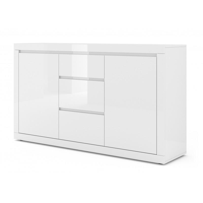 commode rangement meuble tv bella blanco 89x150x40cm hxlxp design moderne de haute qualite 03