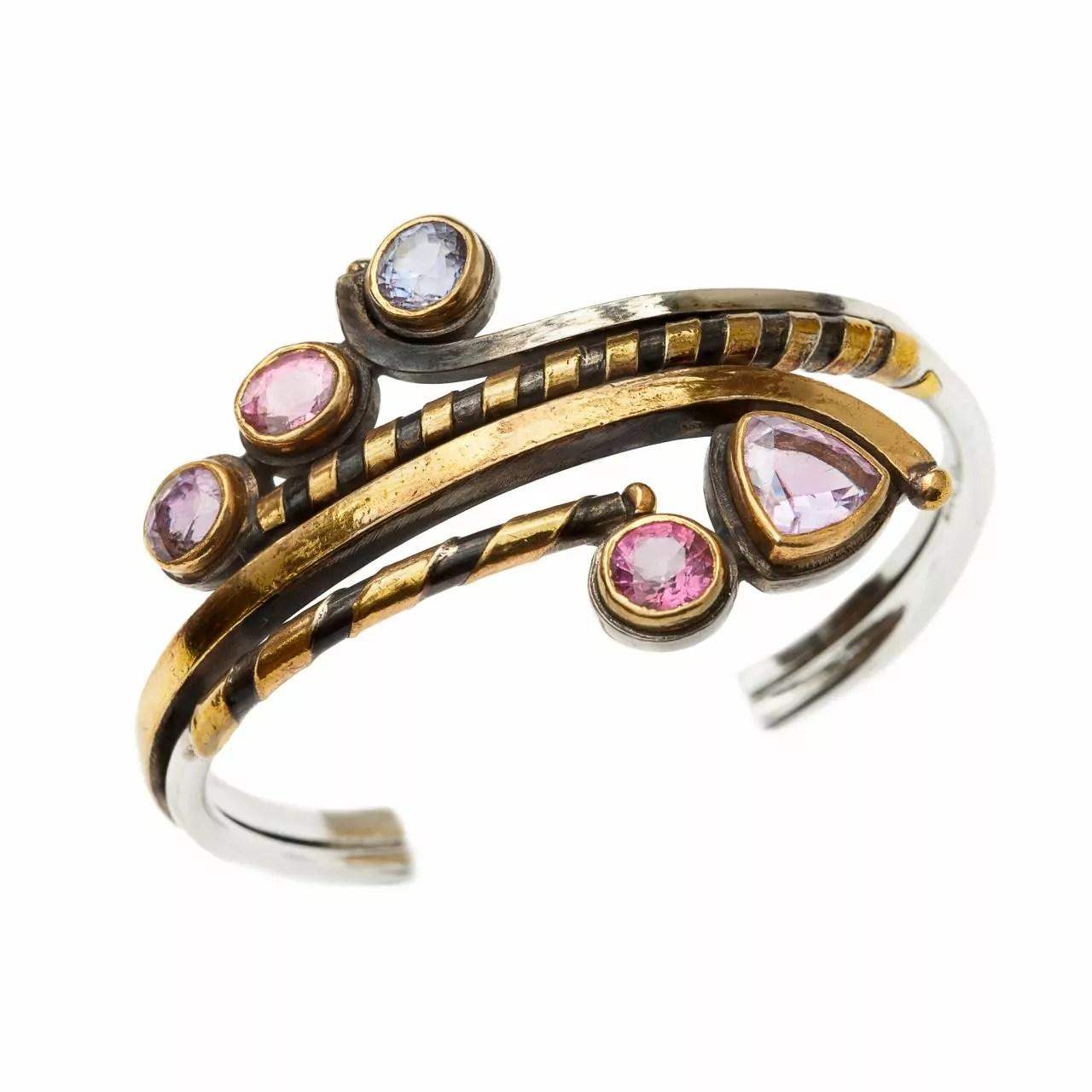 Bracelet with Spinels
