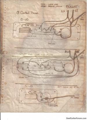 The Steel Guitar Forum :: View topic  Emmons Wiring Diagram