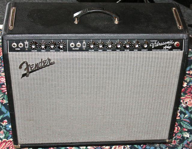 Fender Vibrasonic Custom Amp Please Close Bob Keepin Her