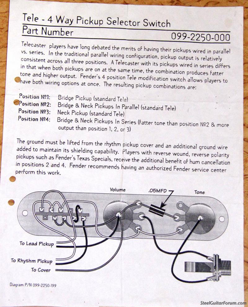 Fender Baja Telecaster Wiring Diagram Reverse Wireless ... on