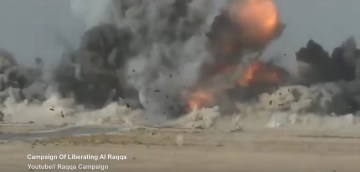 Kurdish-Led Forces Blow Up ISIS Suicide Bomber Before He Reaches Their Position (Video)