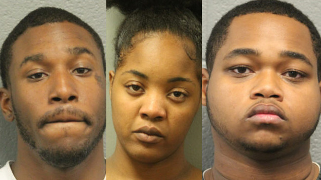 4 charged for attacking man